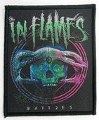 In Flames - 'Battles' Woven Patch